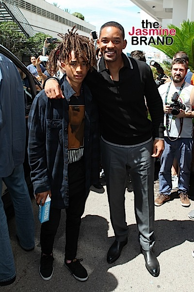Will Smith anf Jaden Smith attend the Cannes Lions.
