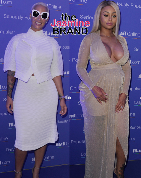 BFF's Amber Rose & Blac Chyna Party At Cannes [Photos]