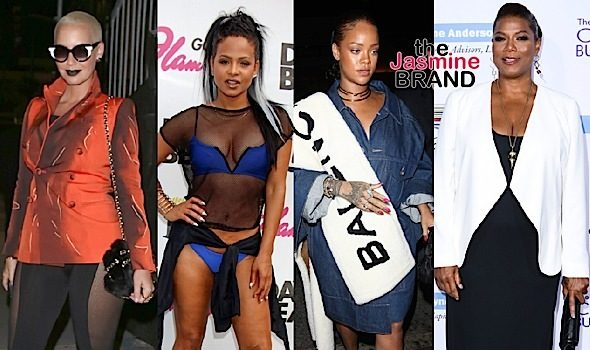 Amber Rose, Christina Milian, Rihanna, Queen Latifah & Paula Patton [Celebrity Stalking]
