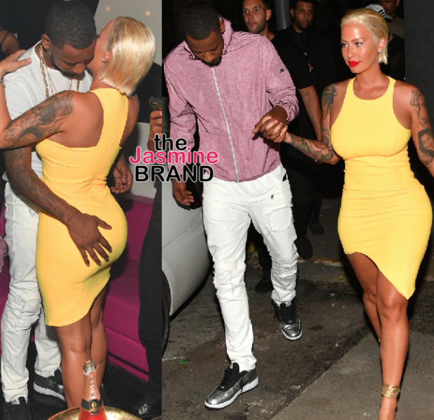 Amber Rose Parties With NBA Boyfriend Terrence Ross [Photos]