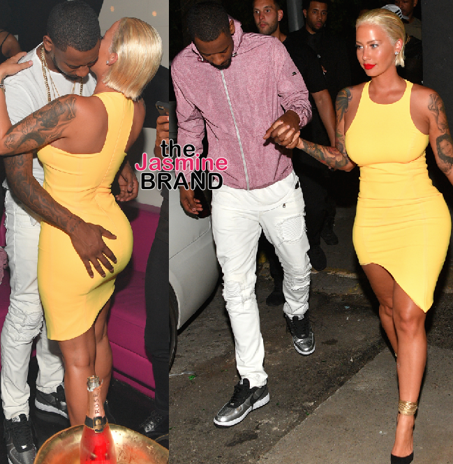 Amber Rose, Terrence Ross