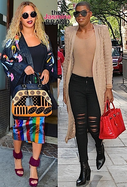 Beyonce & EJ Johnson In These NYC Streets, Tina Lawson Slays, Angela Simmons & Baby Bump Stay Fit + Future & Baby Future