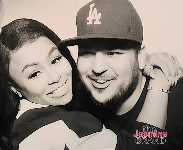 Blac Chyna Receives Temporary Restraining Order Against Rob Kardashian, Source Claims Chyna Tried To Choke Rob w/ Cord
