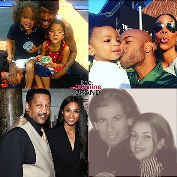celebrities fathers day
