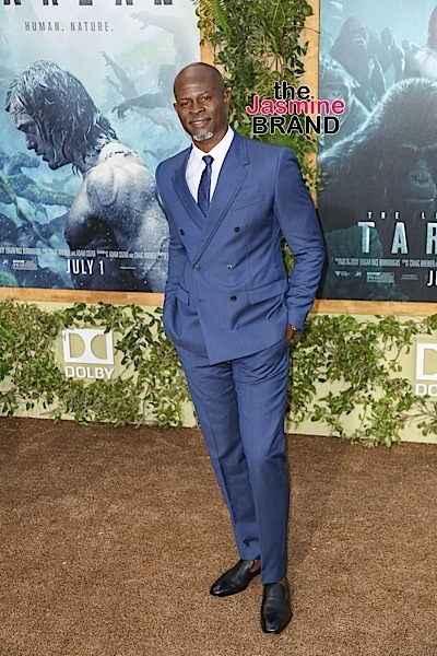 "Djimon Hounsou at ""The Legend Of Tarzan"" Los Angeles Premiere"