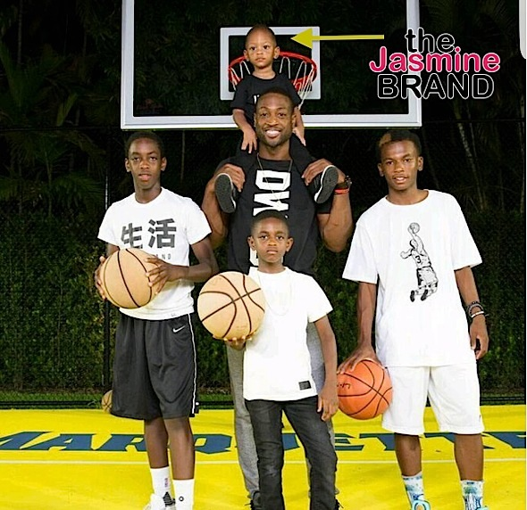 Dwyane Wade Debuts 3-Year-Old Son On Father's Day [Photo]