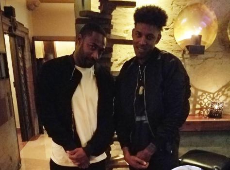 Gilbert Arenas Clowns Nick Young For Getting Dumped By Iggy Azalea [Photo]