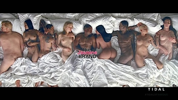 kanye west famous video nude celebrities-the jasmine brand