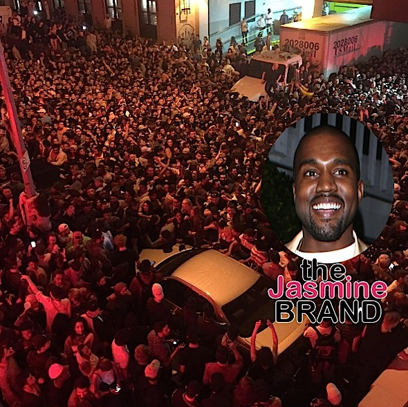 Kanye West Surprise Concert Causes Chaos [VIDEO]