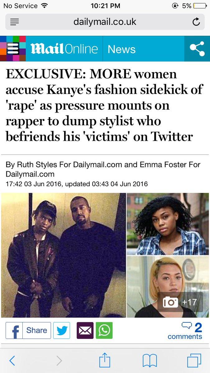 kanye west side kick rape allegations-the jasmine brand