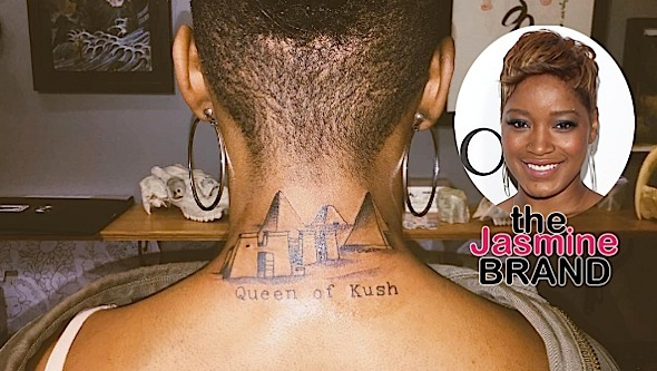 Keke Palmer Debuts & Explains 'Queen of Kush' Tattoo [Photo]