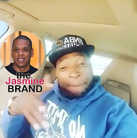LeBron James' Stepdad Calls Out Jay Z: He's a hater! [VIDEO]