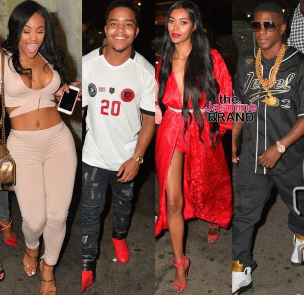 Jessica White, Boosie, Omarion, Young Thug, Lira Galore, OT Genasis Party at Playhouse [Spotted. Stalked. Scene.]