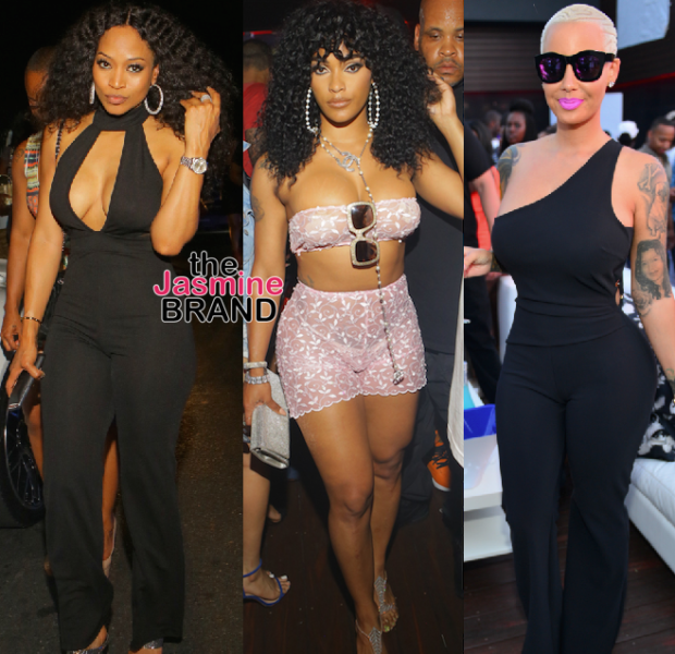 Amber Rose & Boyfriend Terrence Ross, Joseline Hernandez, 2 Chainz, Fabolous Party in ATL [Spotted. Stalked. Scene.]