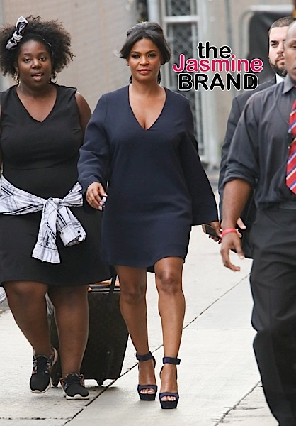 "Nia Long spotted arriving at ""Jimmy Kimmel Live!"""