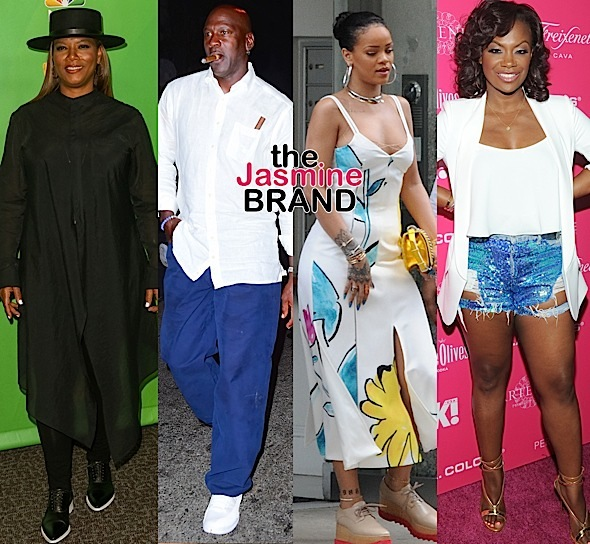 Queen Latifah, Michael Jordan, Rihanna, Kandi Burruss