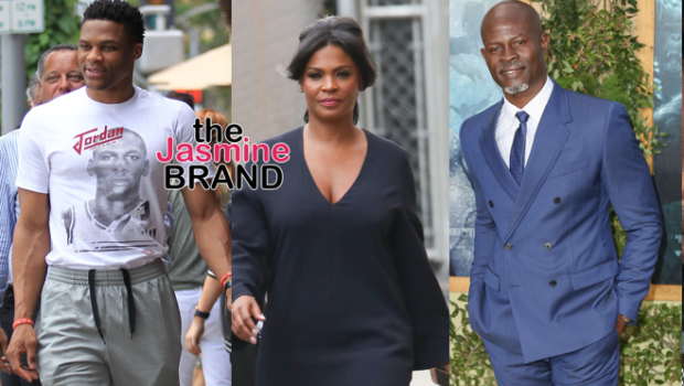 Russell Westbrook Steps Out in Beverly Hills, Nia Long Hits Kimmel, Djimon Hounsou Attends Tarzan Premiere + Magic & Cookie Johnson, Samuel L. Jackson [Photos]