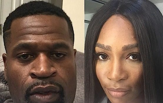 Former NBA Baller Stephen Jackson Confronts Man Who Calls Serena Williams A Gorilla [VIDEO]