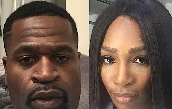 Former NBA Baller Stephen Jackson Confronts Man Who Calls Serena Williams A Gorilla [VIDEO]