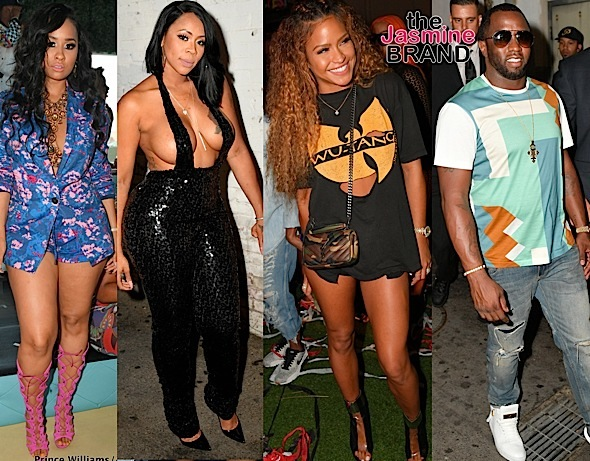 Tammy Rivera, Deelishis, Cassie, Sean 'Diddy' Combs