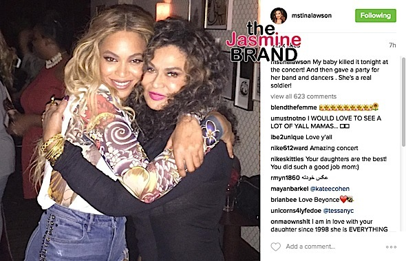 tina knowles-beyonce-the jasmine brand