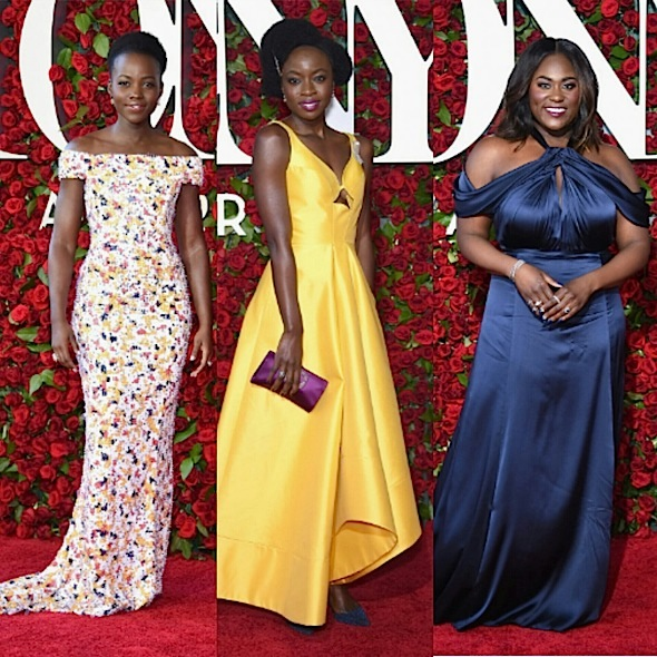 Tony Awards Red Carpet Fashion: Lupita Nyong'o, Danai Gurira, Danielle Brooks, Common, Joan Smalls, Questlove, Jourdan Dunn
