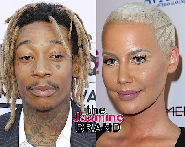 Wiz Khalifa Slams Amber Rose Over Having A 3-Some: Not here for your rebound!