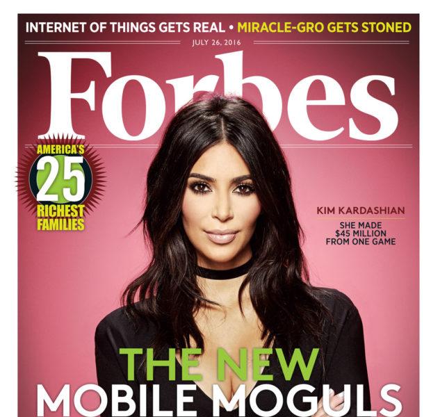 Kim Kardashian Explains How She Snagged The Tech World
