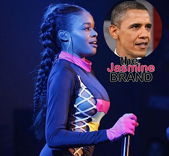 Azealia Banks Barack Obama-the jasmine brand
