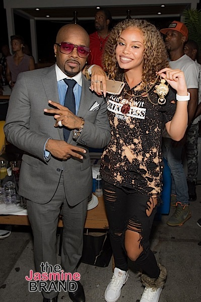"""ATLANTA, GA - JULY 22: Exectuvie producer Jermaine Dupri and Miss Mulatto attend the private screening of Lifetime's """"The Rap Game"""" at Suite Food Lounge on July 22, 2016 in Atlanta, Georgia. (Photo by Marcus Ingram/Getty Images for Lifetime)"""