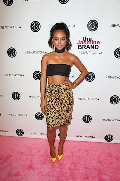 07/09/2016 - Karrueche Tran - 5th Annual BeautyCon Los Angeles Festival - Arrivals - Los Angeles Convention Center - Los Angeles, CA, USA - Keywords: Vertical, California, Attending, Photography, Photograph, Portrait, Arts Culture and Entertainment, Annual Event, 17, culture, trending news, fashion + beauty, Celebrity, Celebrities, Person, People, 2016 BeautyCon LA!, BeautyconLA Orientation: Portrait Face Count: 1 - False - Photo Credit: PRPhotos.com - Contact (1-866-551-7827) - Portrait Face Count: 1