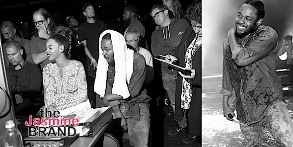Behind-the-Scenes of Beyonce & Kendrick Lamar's BET Performance [Photos]