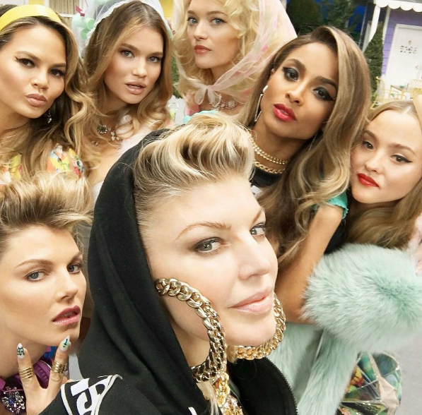 Ciara, Kim Kardashian, Chrissy Teigen Star in Fergie's 'M.I.L.F. $' Video