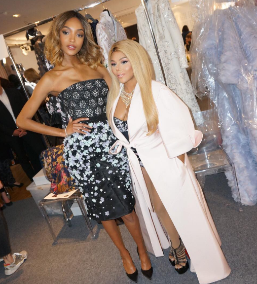 Lil Kim Invades Paris Fashion Week With Marc Jacobs & Jourdan Dunn [Photos]