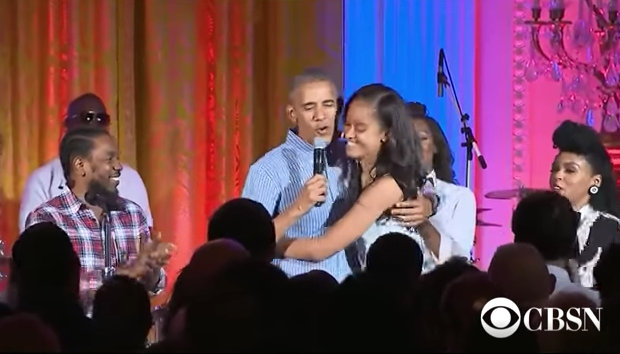Watch President Obama Sing Happy Birthday to daughter Malia, With Kendrick Lamar & Janelle Monae [VIDEO]