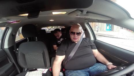 Fat Joe Kicks Passengers Out Uber Over All The Way Up