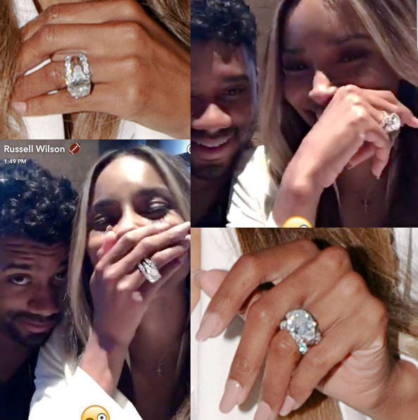 [Bedroom Behavior] Newly Married Ciara & Russell Wilson Gush About New Sex Life