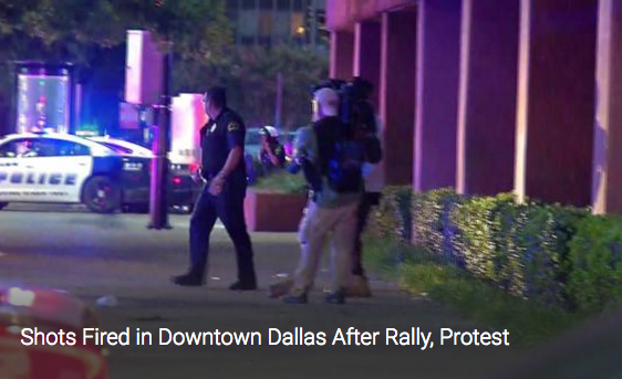 Police Officers Shot After Dallas Rally [VIDEO]