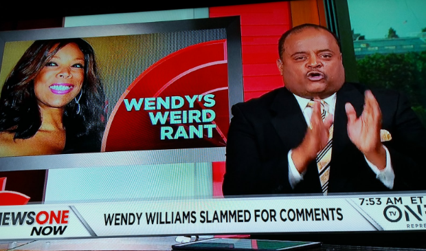 Roland Martin Compares Wendy Williams to Stacey Dash: Read a book & not a gossip magazine. [VIDEO]