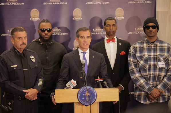 Snoop & The Game Meet With LAPD [VIDEO]