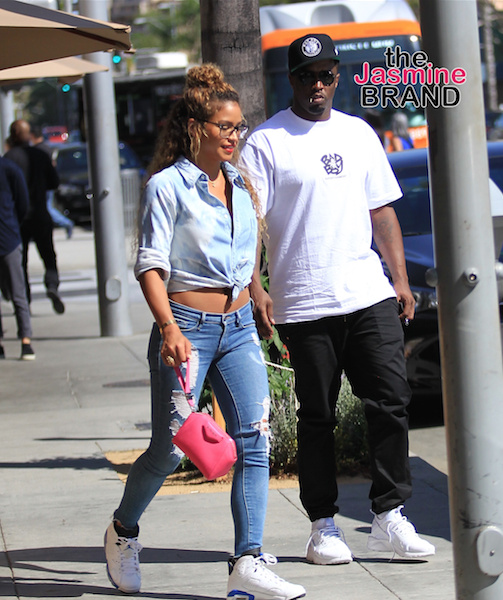 What Split? Diddy & Cassie in Beverly Hills, Will & Willow Smith Fierce for PFW + Dave Chappelle, Winnie Harlow, Danielle Brooks