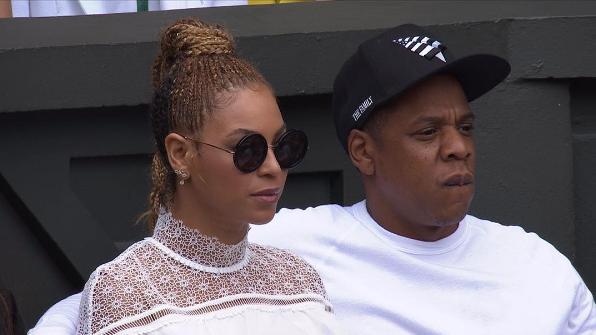 Beyonce & Jay Z Support Serena Williams at Wimbledon [Photos]