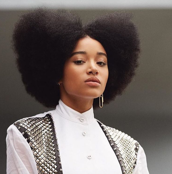Amandla Stenberg: The best way for me to be a role model is to be as true to myself as possible.