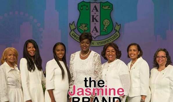 Tika Sumpter Debuts Baby Bump, Inducted Into AKA With Scandal's Judy Smith [Photos]