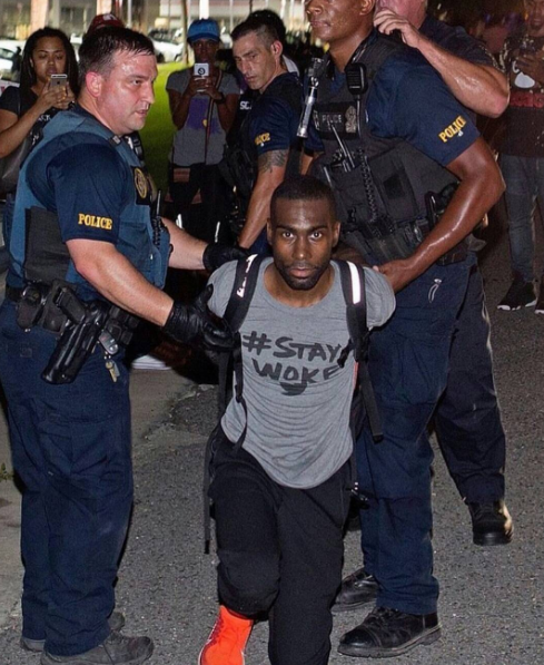 Activist DeRay Mckesson Arrested During Protest [VIDEO]