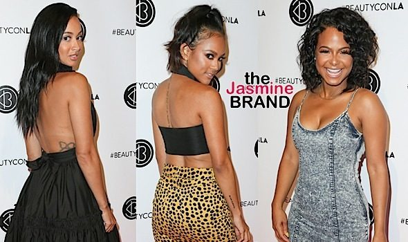 Karrueche Tran, Christina Milian, Draya Michele, Jeannie Mai, Chantel Jeffries Spotted at Beautycon LA [Photos]