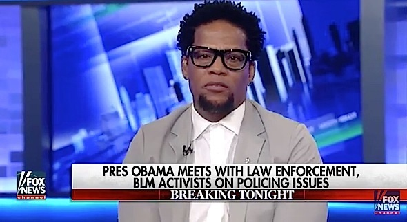 D.L. Hughley Calls Out Fox News & Megyn Kelly: This network is racist. [VIDEO]