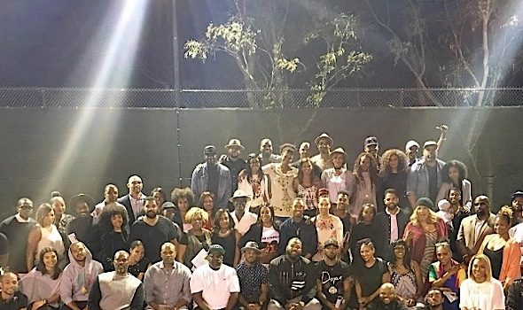 Cedric the Entertainer Leads Black Hollywood Town Hall Meeting: The Game, Tina Lawson, Jesse Williams, Terrence J, Meagan Good & More Attend! [Photos]