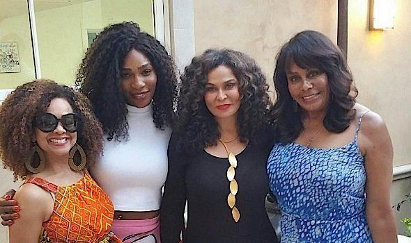 Serena Williams & Tina Lawson Hit BBQ, Ciara & Russell Wilson Attend Wedding + Quincy, Kim Porter, Angela Simmons, Tony Rock, Tom Cruise, Draya Michele, Usher