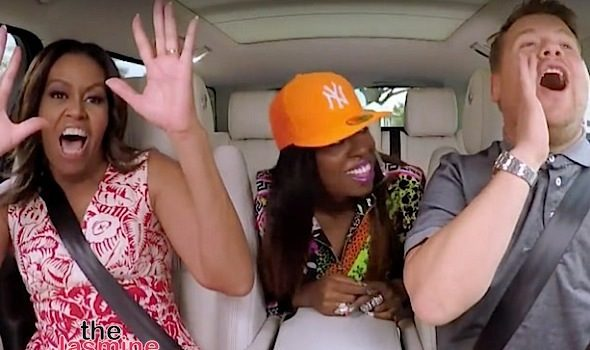 Watch Michelle Obama's Epic Carpool Karaoke Moment With Missy Elliott [VIDEO]